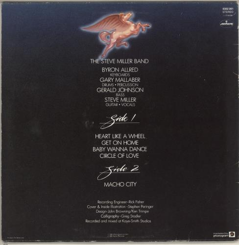 The Steve Miller Band Circle Of Love vinyl LP album (LP record) Dutch SBMLPCI728108