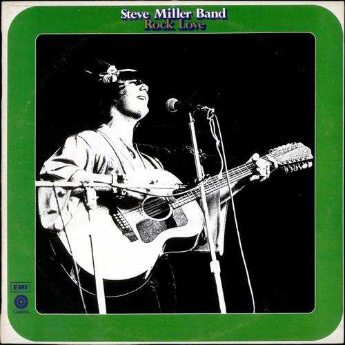 The Steve Miller Band Rock Love vinyl LP album (LP record) UK SBMLPRO173431