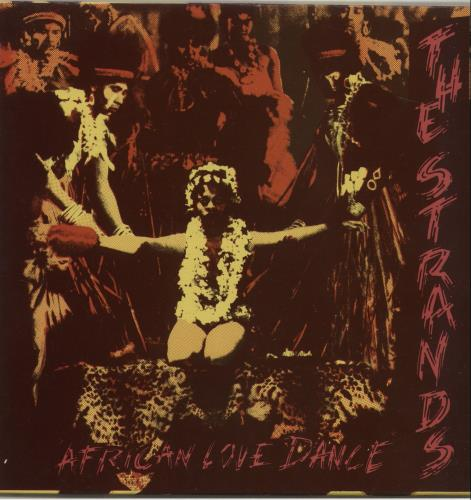 "The Strands African Love Dance 7"" vinyl single (7 inch record) UK YJ107AF681947"
