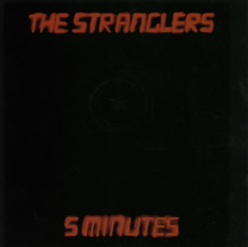 "The Stranglers 5 Minutes + p/s 7"" vinyl single (7 inch record) UK STR07MI106162"