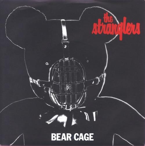 """The Stranglers Bear Cage 7"""" vinyl single (7 inch record) UK STR07BE116592"""