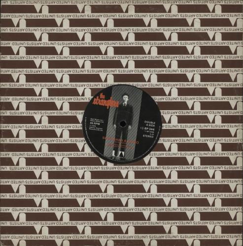 "The Stranglers Bear Cage 12"" vinyl single (12 inch record / Maxi-single) UK STR12BE43283"