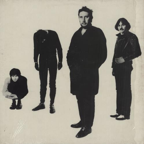 "The Stranglers Black And White + Mispressed Beige Vinyl 7"" vinyl LP album (LP record) UK STRLPBL701916"