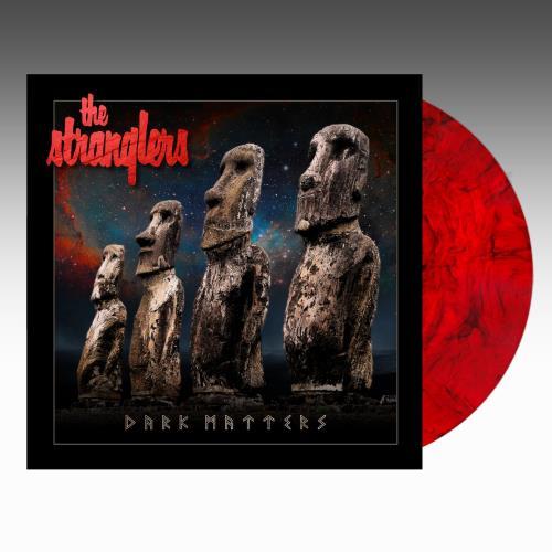 The Stranglers Dark Matters - Indie Exclusive Red & Black Smoke Vinyl - Sealed vinyl LP album (LP record) UK STRLPDA775198