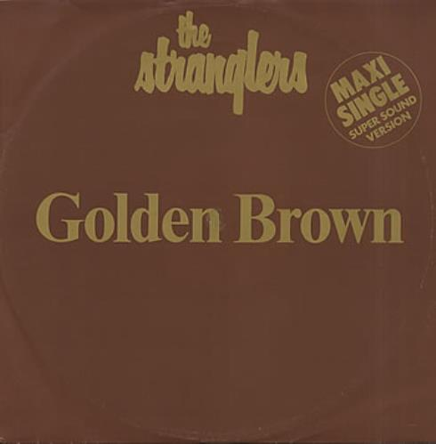 The Stranglers Golden Brown European 12 Quot Vinyl Single 12