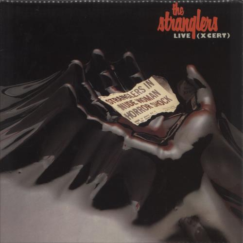 The Stranglers Live (X Cert) - Laminated & Picture Labels vinyl LP album (LP record) UK STRLPLI748753