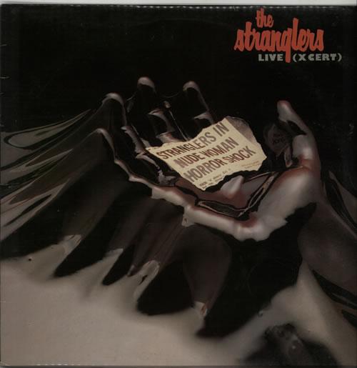 The Stranglers Live [X Cert] vinyl LP album (LP record) UK STRLPLI232685
