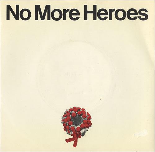 "The Stranglers No More Heroes + Sleeve 7"" vinyl single (7 inch record) UK STR07NO110109"