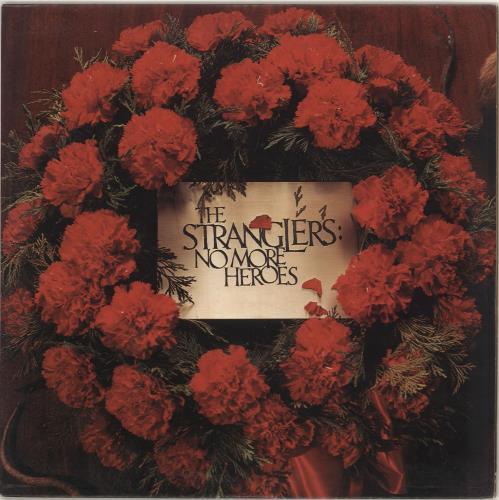 The Stranglers No More Heroes - 1st - EX vinyl LP album (LP record) UK STRLPNO400333