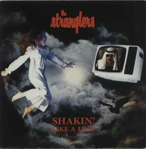 "The Stranglers Shakin' Like A Leaf 7"" vinyl single (7 inch record) UK STR07SH98186"