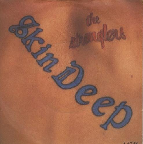 """The Stranglers Skin Deep 7"""" vinyl single (7 inch record) UK STR07SK273021"""