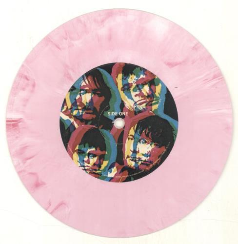 "The Stranglers Something Better Change - Pink Vinyl 7"" vinyl single (7 inch record) US STR07SO692714"