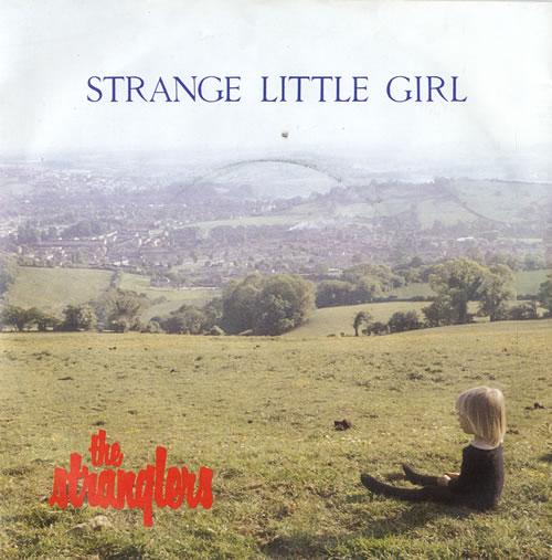 """The Stranglers Strange Little Girl - 4-Prong 7"""" vinyl single (7 inch record) UK STR07ST581473"""
