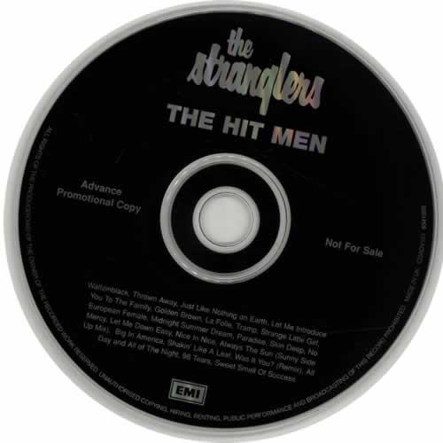 The Stranglers The Hit Men 2 CD album set (Double CD) UK STR2CTH77361