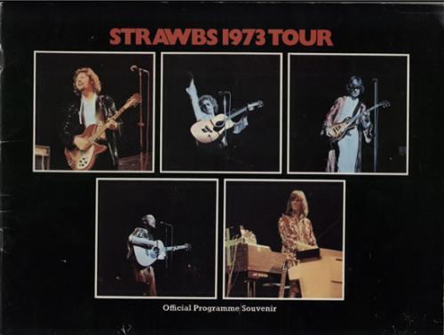 The Strawbs 1973 Tour - Autographed + Ticket Stub tour programme UK SRBTRTO583095