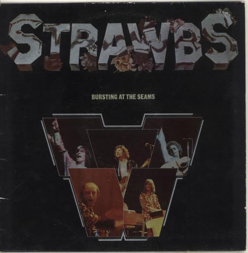 The Strawbs Bursting At The Seams - Red Vinyl vinyl LP album (LP record) UK SRBLPBU714338