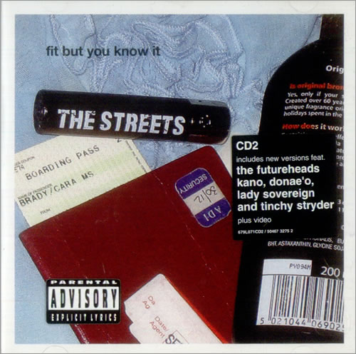 964ac89915278 The Streets Fit But You Know It UK 2-CD single set (Double CD single ...