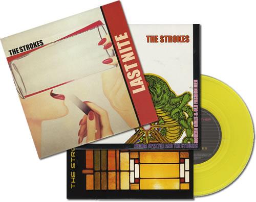 "The Strokes Quantity of 7"" Singles 7"" vinyl single (7 inch record) UK KES07QU398224"