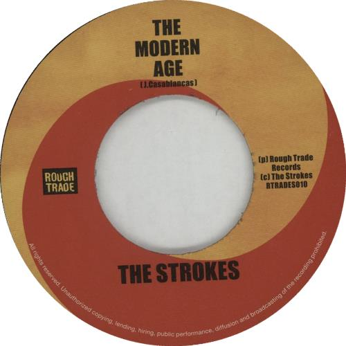 "The Strokes The Modern Age 7"" vinyl single (7 inch record) UK KES07TH238694"