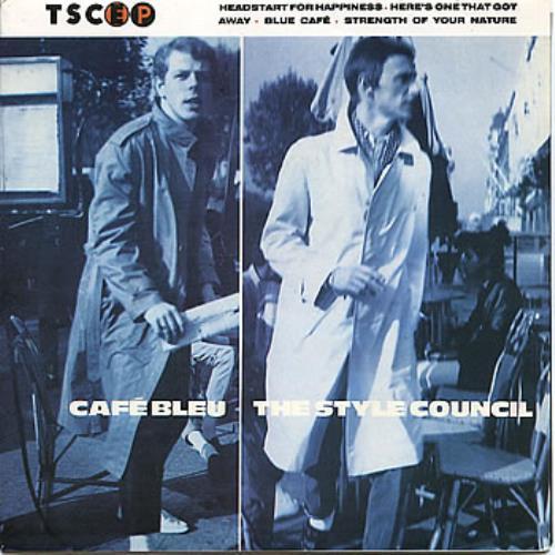 Style Council Cafe Bleu Blue Vinyl