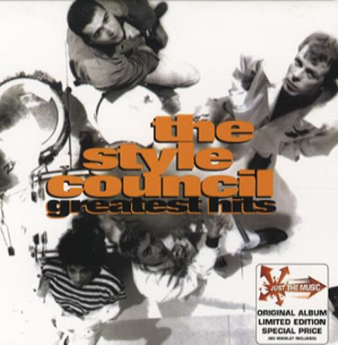 The Complete Greatest Hits America: The Style Council Greatest Hits Australian CD Album (CDLP