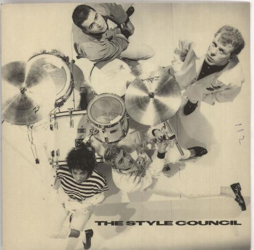 """The Style Council It Didn't Matter + Sleeve - Wide Centre 7"""" vinyl single (7 inch record) UK STY07IT746243"""