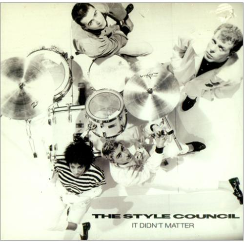 "The Style Council It Didn't Matter 7"" vinyl single (7 inch record) Australian STY07IT424536"