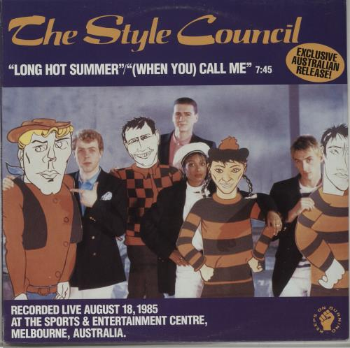 The Style Council Long Hot Summer Australian 12