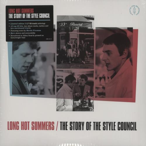 The Style Council Long Hot Summers: The Story Of The Style Council - Sealed 3-LP vinyl record set (Triple Album) UK STY3LLO755541
