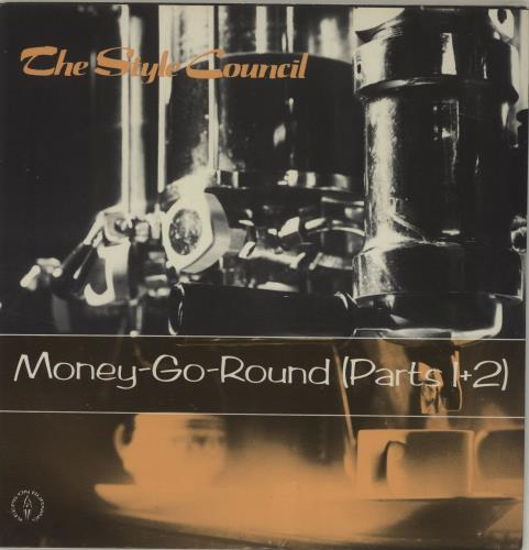 "The Style Council Money-Go-Round + Insert 7"" vinyl single (7 inch record) UK STY07MO686530"