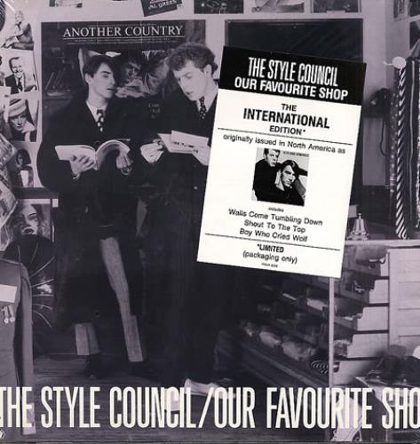 The Style Council Our Favourite Shop , The International
