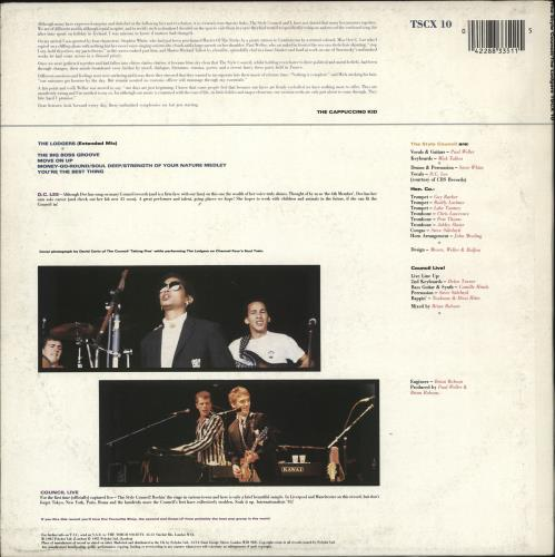 """The Style Council The Lodgers + Insert - EX 12"""" vinyl single (12 inch record / Maxi-single) UK STY12TH724851"""