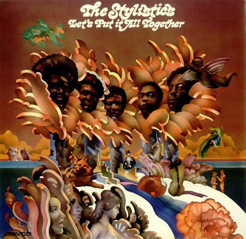 The Stylistics Let S Put It All Together Uk Vinyl Lp Album