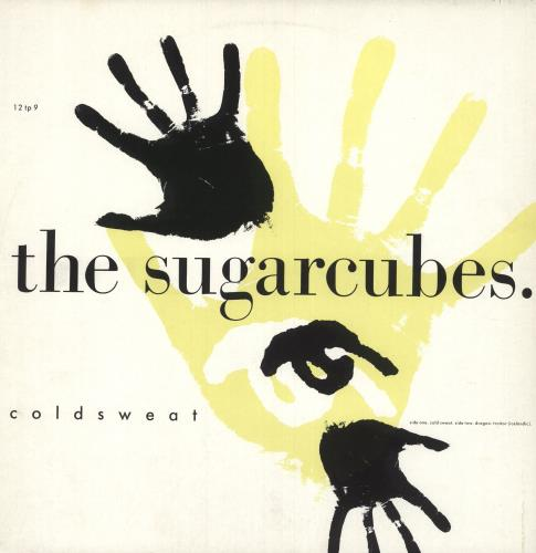 "The Sugarcubes Coldsweat 12"" vinyl single (12 inch record / Maxi-single) UK SUG12CO41663"