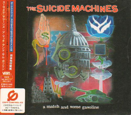 The Suicide Machines A Match And Some Gasoline CD album (CDLP) Japanese SU2CDAM541728