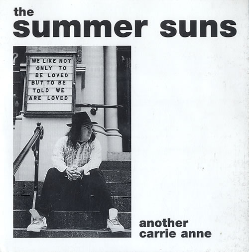 "The Summer Suns Another Carrie Anne 7"" vinyl single (7 inch record) US W7507AN624488"