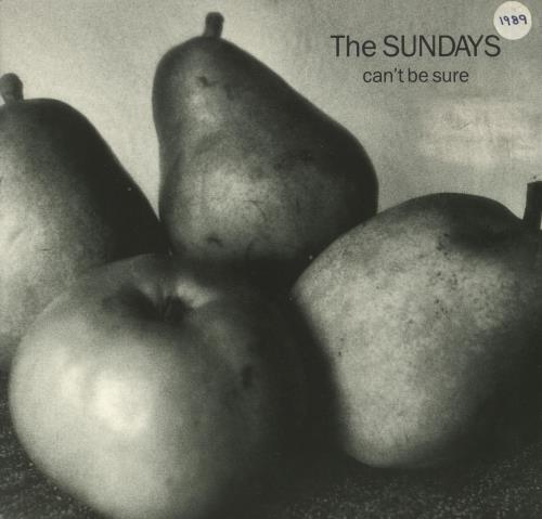 "The Sundays Can't Be Sure 7"" vinyl single (7 inch record) UK SUN07CA249975"