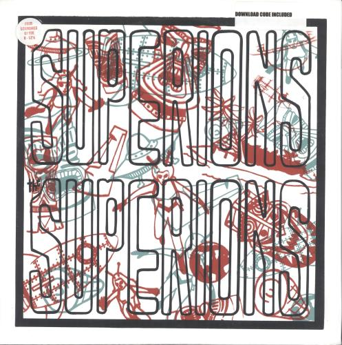"""The Superions The Superions 12"""" vinyl single (12 inch record / Maxi-single) US UZ312TH716152"""