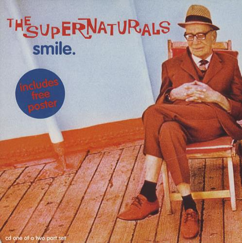 The Supernaturals Smile Uk 2 Cd Single Set Double Cd Single 191564