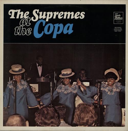 The Supremes At The Copa vinyl LP album (LP record) UK SPMLPAT262431