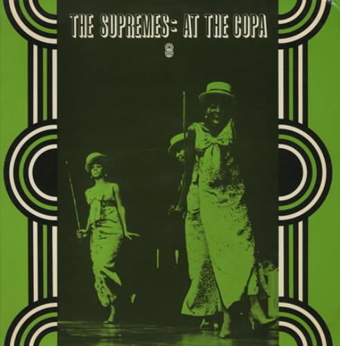 The Supremes At The Copa vinyl LP album (LP record) Australian SPMLPAT428268