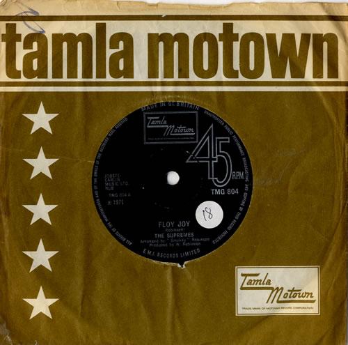 "The Supremes Floy Joy - Solid 7"" vinyl single (7 inch record) UK SPM07FL581479"