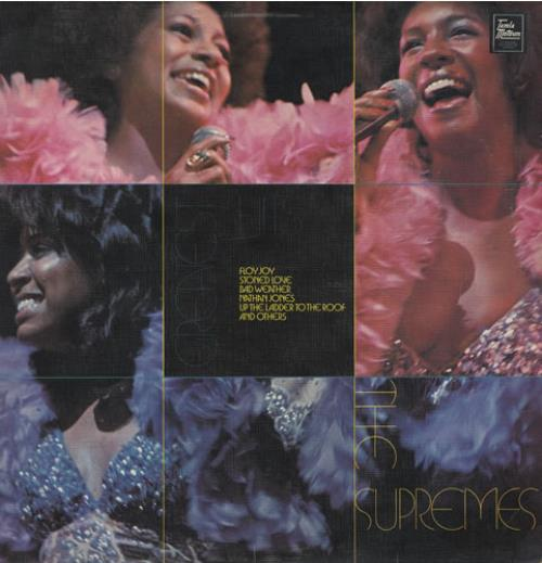 The Supremes Greatest Hits vinyl LP album (LP record) UK SPMLPGR434850