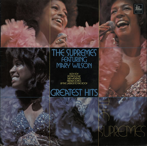 The Supremes Greatest Hits vinyl LP album (LP record) UK SPMLPGR570714