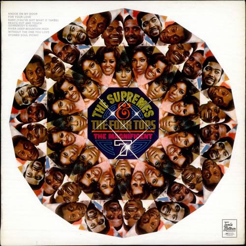The Supremes Magnificent 7 vinyl LP album (LP record) UK SPMLPMA77990