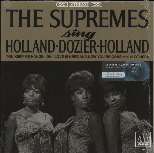The Supremes Sing Holland Dozier Holland - 180gm vinyl LP album (LP record) German SPMLPSI457601