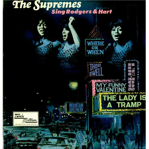 The Supremes Sing Rodgers Amp Hart Uk Vinyl Lp Album Lp