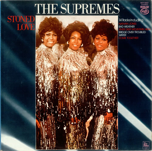 The Supremes Stoned Love vinyl LP album (LP record) UK SPMLPST523258