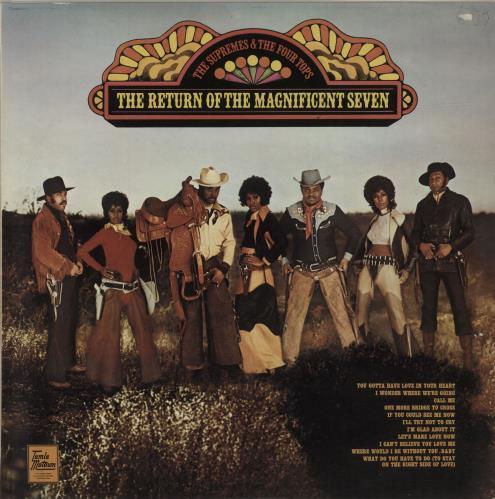 The Supremes The Return Of The Magnificent Seven vinyl LP album (LP record) UK SPMLPTH666495