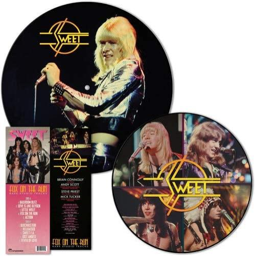 The Sweet Fox On The Run Rare Studio Tracks picture disc LP (vinyl picture disc album) US SWTPDFO767496